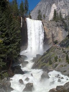 Vernal Fall from Lady Franklin Rock